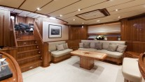 Sailing Yacht THIS IS US - Saloon