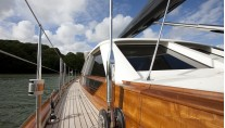 Sailing yacht AKALAM Side Deck