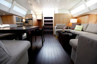 Sailing yacht ALIX - Salon