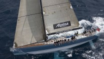 Sailing yacht ALPINA -   Main