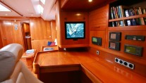 Sailing yacht ALPINA -   Nav Station