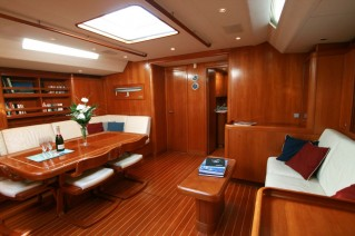 Sailing yacht ALPINA -   Salon