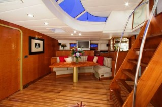 Sailing yacht APACHE -  Dining