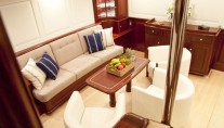 Sailing yacht Annagine - Lower Salon seating 2