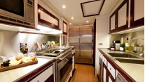 Sailing yacht Annagine - galley