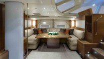 Sailing yacht Antares III - Lower Salon Dining