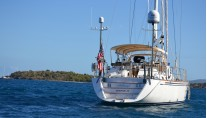 Sailing yacht Archangel -  Aft View