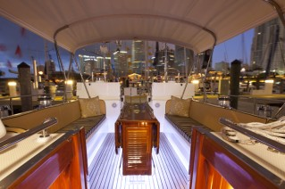 Sailing yacht Archangel -  Cockpit 2