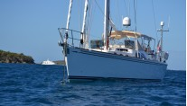 Sailing yacht Archangel -  Forward View