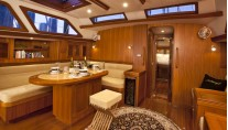 Sailing yacht Archangel -  Salon Dining