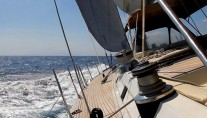 Sailing yacht Aspiration - sailing