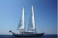 Sailing yacht GLORIOUS -  Profile