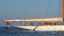 Sailing yacht Germania Nova -  Aft
