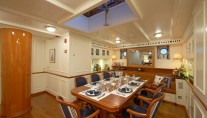 Sailing yacht Germania Nova -  Dining Area