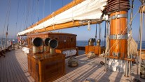 Sailing yacht Germania Nova -  On Deck