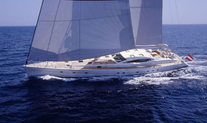 Sailing Yacht Breath of Horus (ex Red Sula, Happy Sailing)