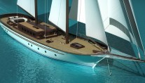 Sailing yacht Imagination by Dream Ship Victory