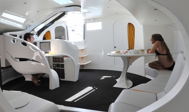 Sailing Yacht Interiors Sailing Yacht jp 54 Interior