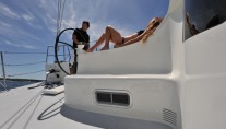 Sailing yacht JP 54 -  Relaxing on Deck