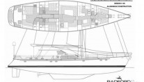 Sailing yacht KE-AMA II -  Layout