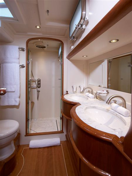 Amusing 90 luxury yacht bathrooms inspiration design of bathroom image gallery luxury yacht Small yacht bathroom design