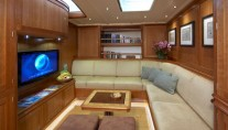 Sailing yacht KEALOHA -  Lounge Area