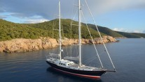 Sailing yacht KESTREL -  Main