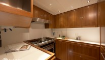 Sailing yacht LIONHEART - Galley