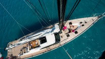 Sailing yacht LUSH - From the Mast