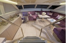 Sailing yacht LUSH - Main Salon