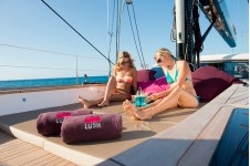 Sailing yacht LUSH - Sunpads on the Bow