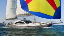 Sailing yacht MERLIN designed by Karatas Yacht Design