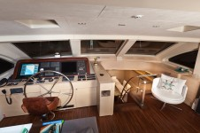 Sailing yacht Merlin -  Bridge