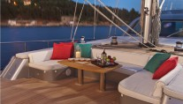 Sailing yacht Merlin -  Foredeck seating