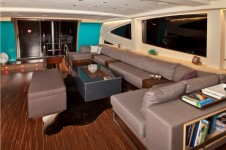 Sailing yacht Merlin -  Main Salon