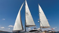 Sailing yacht Merlin -  Main
