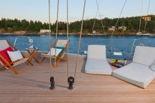 Sailing yacht Merlin -  On Deck