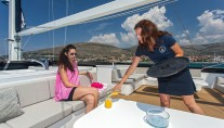 Sailing yacht NAVILUX -  Cocktails on the Sundeck
