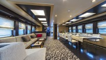 Sailing yacht NAVILUX -  Main Salon and Dining