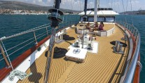 Sailing yacht NAVILUX -  Spacious Deck Areas