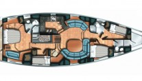 Sailing yacht NEKI -  Layout