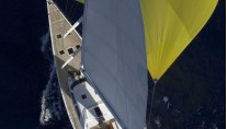 Sailing yacht Nephele -  From ABove