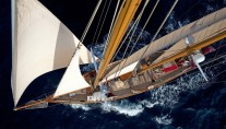 Sailing yacht Oriander -  From Above