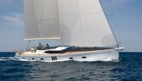 Sailing yacht Oyster 825 designed by Humphreys Yacht Design