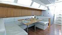 Sailing yacht POLYTROPON II -  Salon Dining