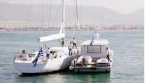 Sailing yacht POLYTROPON II -  with MY POLYTORFON