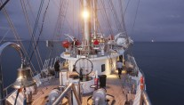 Sailing yacht RUNNING ON WAVES -  Deck 3