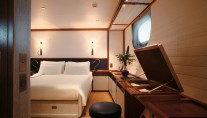 Sailing yacht Rosehearty - Interior Christian Liaigre