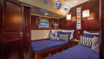 Sailing yacht SAVARONA - Twin cabin