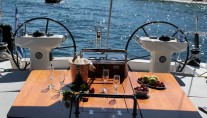 Sailing yacht SHOOTING STAR -  Al fresco Dining
